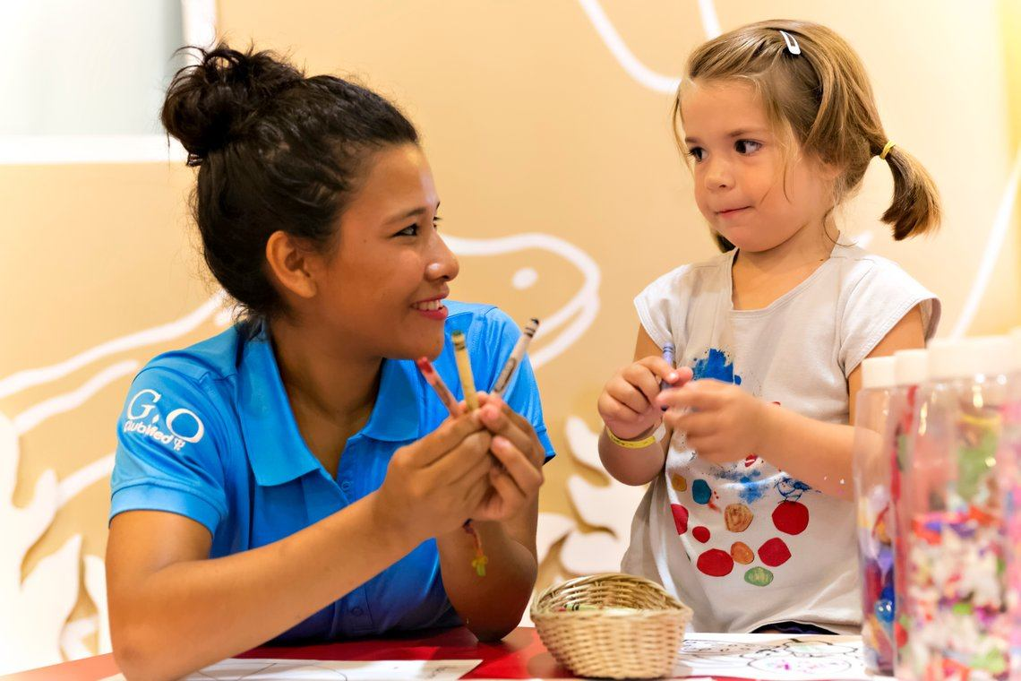 Childcare kids clubs at Club Med