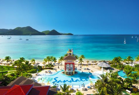 Sandals Grande St Lucian resort