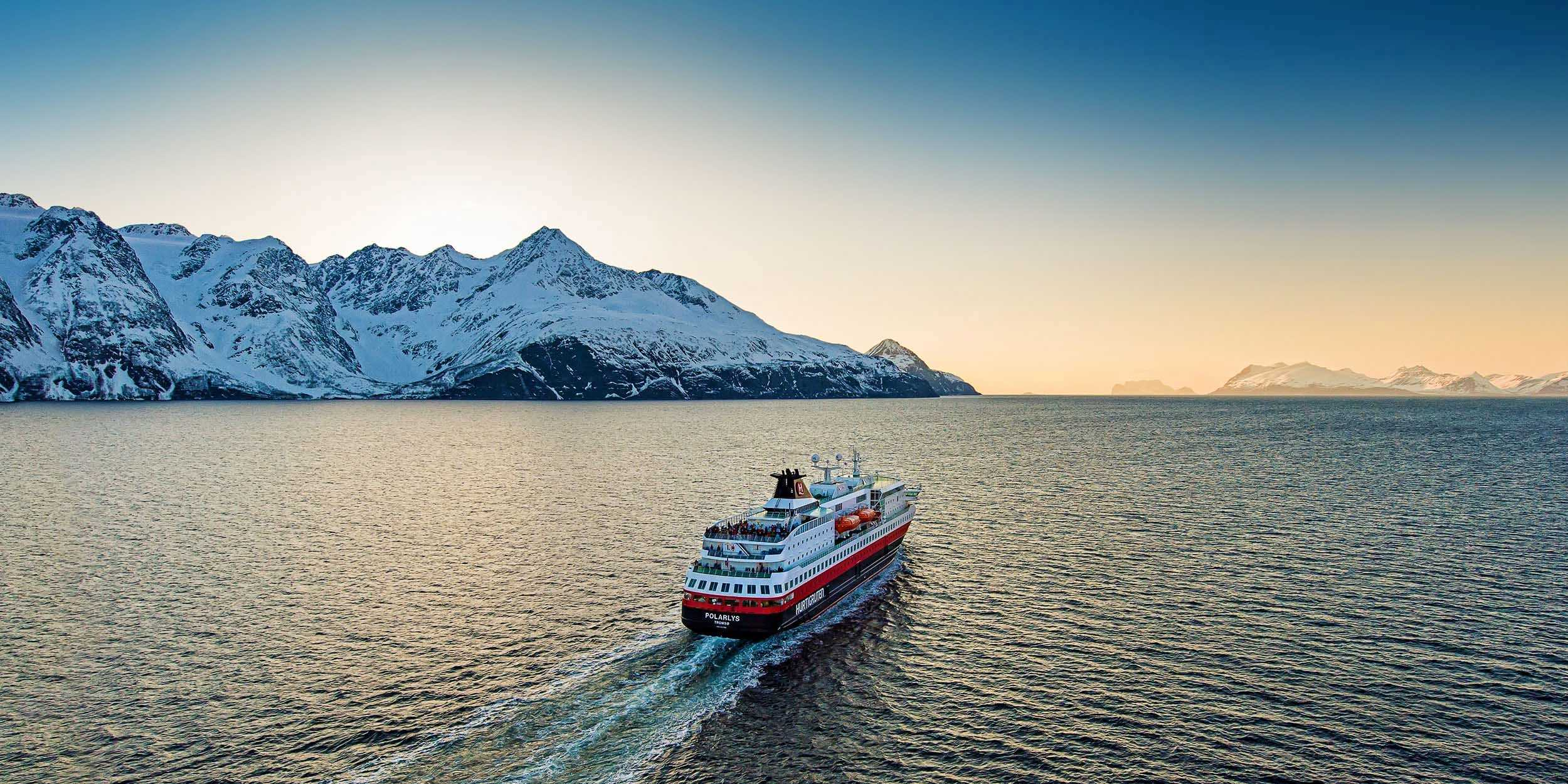 Hurtigruten cruises - ship