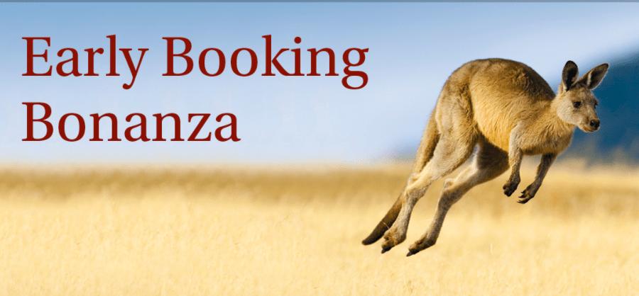 titan travel early booking bonanza