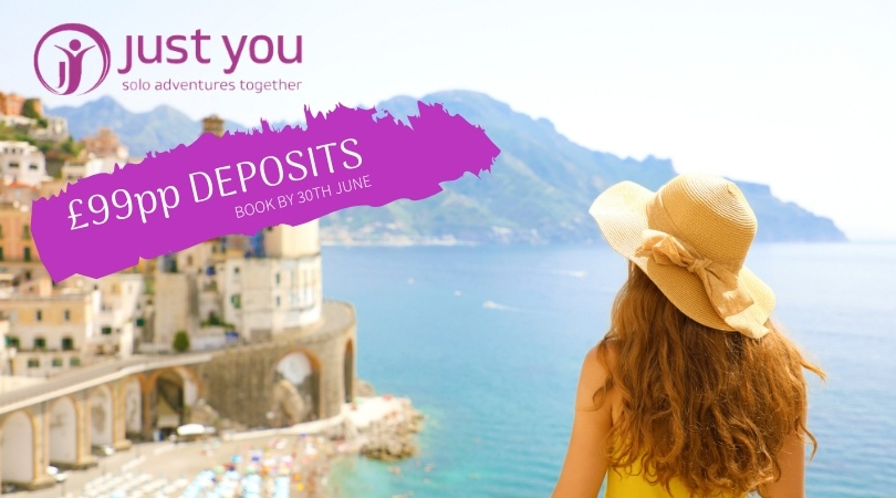 £99pp Deposits header image with woman looking into view