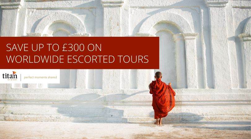 Save up to £300 on worldwide escorted tours