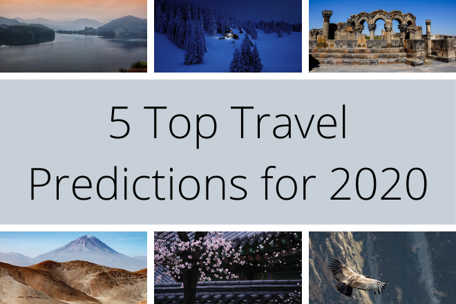 Five Top Travel Predictions for 2020 header