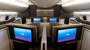 First Class British Airways